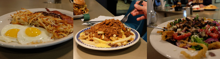 Photos showcasing some food from Ross' Quad Cities diner-style restaurant