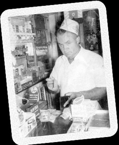 Photo of Harold Ross, the founder of Ross Diner